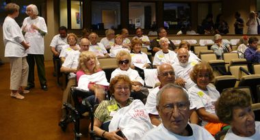 Galt Mile Residents at Broward County Public Budget Hearing