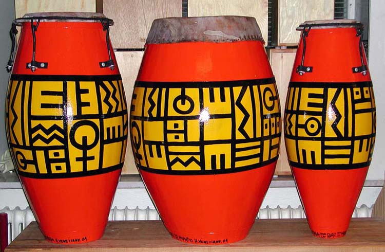 Uruaguaian Candombe Drums