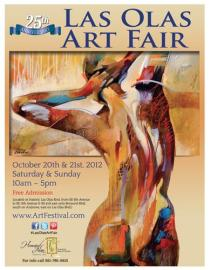Las Olas Art Fair Poster