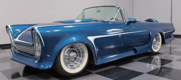 1956 Ford Thunderbird convertible by Gene Winfield