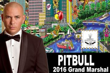 2016 Grand Marshal Rapper PITBULL