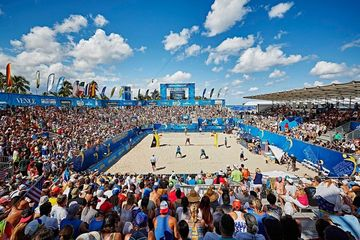 Swatch Beach Volleyball in Fort Lauderdale