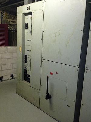 Old Electrical Panel in Meter Room