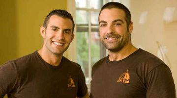 Cousins Anthony Carrino and John Colaneri of HGTV