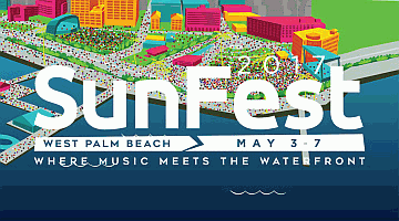 Click to Sunfest web site
